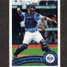 2011 Topps Baseball #514 Kelly Shoppach - Tampa Bay Rays