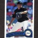 2011 Topps Baseball #459 Frank Francisco - Toronto Blue Jays