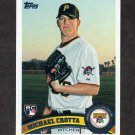 2011 Topps Baseball #401 Michael Crotta RC - Pittsburgh Pirates