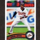 2011 Topps Baseball #396 Adam Jones - Baltimore Orioles