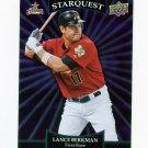 2009 Upper Deck Starquest Common Purple #SQ18 Lance Berkman - Houston Astros
