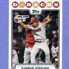 2008 Topps Baseball #179 Chris B. Young - Arizona Diamondbacks
