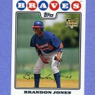 2008 Topps Baseball #126 Brandon Jones RC - Atlanta Braves