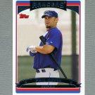 2006 Topps Baseball #504 Phil Nevin - Texas Rangers
