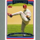 2006 Topps Baseball #432 Brett Myers - Philadelphia Phillies
