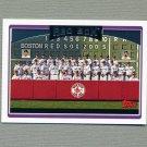 2006 Topps Baseball #269 Boston Red Sox TC