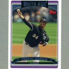 2006 Topps Baseball #191 Freddy Garcia - Chicago White Sox