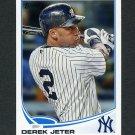 2013 Topps Baseball #002 Derek Jeter - New York Yankees