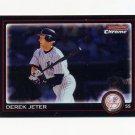 2010 Bowman Chrome Baseball #147 Derek Jeter - New York Yankees