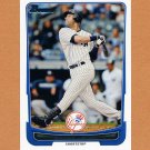 2012 Bowman Baseball #001 Derek Jeter - New York Yankees