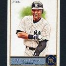 2011 Topps Allen and Ginter Baseball #057 Derek Jeter - New York Yankees