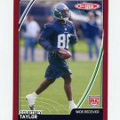 2007 Topps Total Football Red #487 Courtney Taylor RC - Seaattle Seahawks