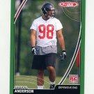 2007 Topps Total Football #507 Jamaal Anderson RC - Atlanta Falcons