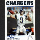2004 Topps Football #181 Drew Brees - San Diego Chargers