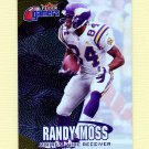 2000 Fleer Gamers Football #068 Randy Moss - Minnesota Vikings