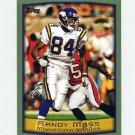 1999 Topps Football #274 Randy Moss - Minnesota Vikings