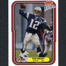 2004 Fleer Platinum Football #067 Tom Brady - New England Patriots