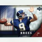 2005 Upper Deck Football #152 Drew Brees - San Diego Chargers