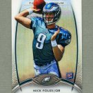 2012 Topps Platinum Football #103 Nick Foles RC - Philadelphia Eagles