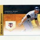 2012 Topps Update Baseball Golden Moments #GMU28 Harmon Killebrew - Minnesota Twins