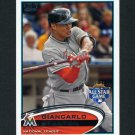 2012 Topps Update Baseball #US129 Giancarlo Stanton - Miami Marlins
