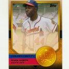 2012 Topps Golden Greats Baseball #GG55 Hank Aaron - Milwaukee Braves