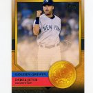 2012 Topps Golden Greats Baseball #GG28 Derek Jeter - New York Yankees