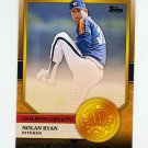 2012 Topps Golden Greats Baseball #GG08 Nolan Ryan - Houston Astros