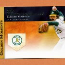2012 Topps Golden Moments Baseball #GM23 Dennis Eckersley - Oakland Athletics