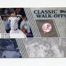 2012 Topps Classic Walk-Offs Baseball #CW15 Derek Jeter - New York Yankees