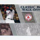 2012 Topps Classic Walk-Offs Baseball #CW14 David Ortiz - Boston Red Sox