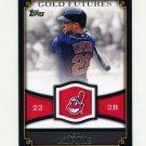 2012 Topps Gold Futures Baseball #GF25 Jason Kipnis - Cleveland Indians