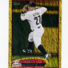 2012 Topps Gold Sparkle Baseball #187 Jose Altuve - Houston Astros