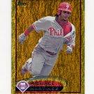 2012 Topps Gold Sparkle Baseball #064 Michael Martinez - Philadelphia Phillies