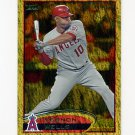 2012 Topps Gold Sparkle Baseball #013 Vernon Wells - Los Angeles Angels