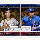 2012 Topps Timeless Talents Baseball #TT22 Luis Aparicio / Starlin Castro