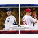 2012 Topps Timeless Talents Baseball #TT12 Andy Pettitte / Cliff Lee