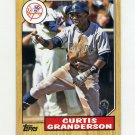 2012 Topps 1987 Topps Minis Baseball #TM50 Curtis Granderson - New York Yankees