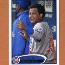 2012 Topps Baseball #270B Starlin Castro - Chicago Cubs VAR SP/ In Dugout