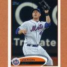 2012 Topps Baseball #251 Jason Bay - New York Mets