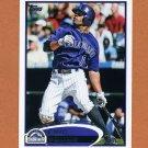 2012 Topps Baseball #242 Eric Young - Colorado Rockies