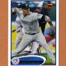 2012 Topps Baseball #229 Yunel Escobar - Toronto Blue Jays