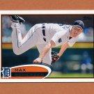 2012 Topps Baseball #162 Max Scherzer - Detroit Tigers