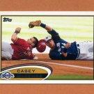 2012 Topps Baseball #136 Caset McGehee - Milwaukee Brewers