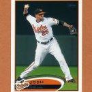 2012 Topps Baseball #121 Josh Bell - Baltimore Orioles
