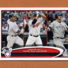 2012 Topps Baseball #091 Alex Rodriguez / Jim Thome / Jason Giambi