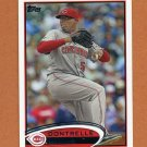 2012 Topps Baseball #089 Dontrelle Willis - Cincinnati Reds