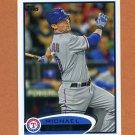 2012 Topps Baseball #055 Michael Young - Texas Rangers