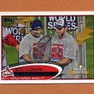 2012 Topps Baseball #053 St. Louis Cardinals WS
