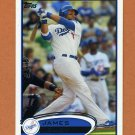 2012 Topps Baseball #039 James Loney - Los Angeles Dodgers